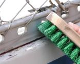 Arreglo de junta en una embarcación