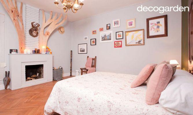 Acondicionar y decorar el dormitorio decogarden - Decogarden cuadros ...