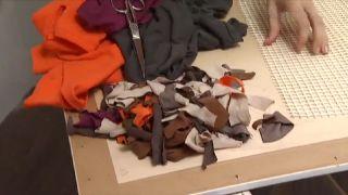 Cómo hacer una alfombra de baño - Paso 2