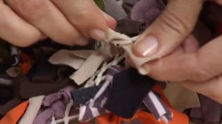 Cómo hacer una alfombra de baño - Paso 4