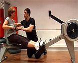 Máquina remo ejercicios 4 semana adelgazamiento