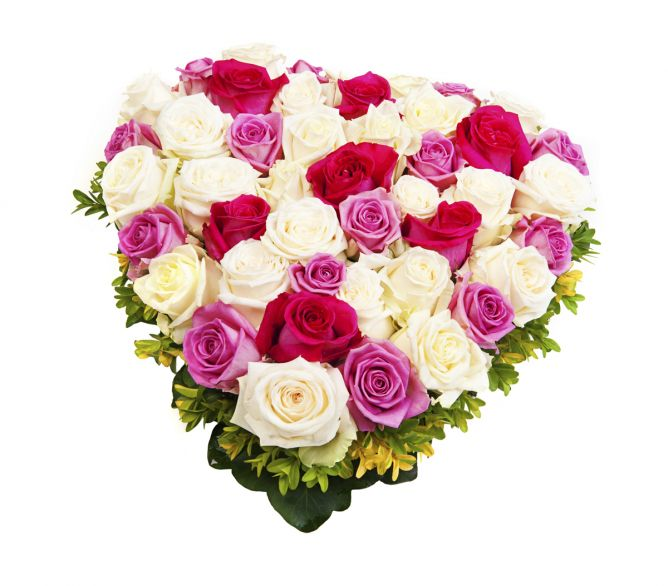 corazones flores 7