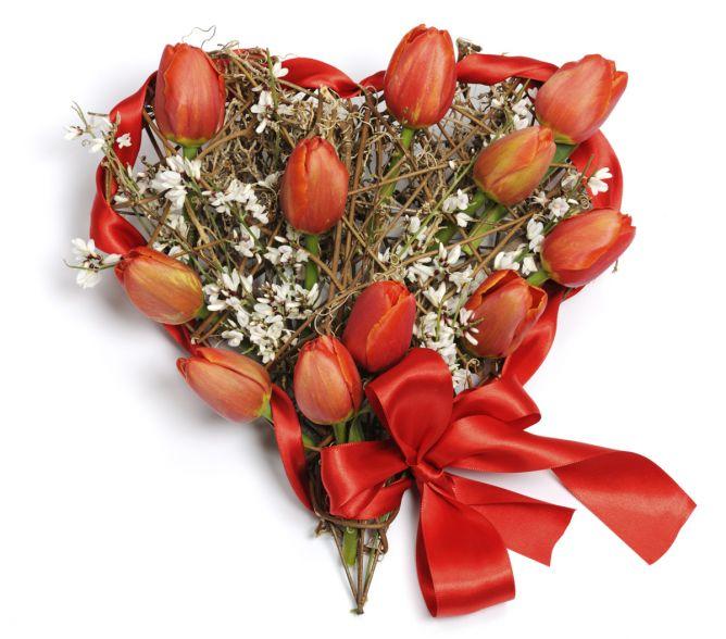 corazones de flores 3