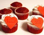 Cupcakes de terciopelo rojo (Red velvet cupcakes)