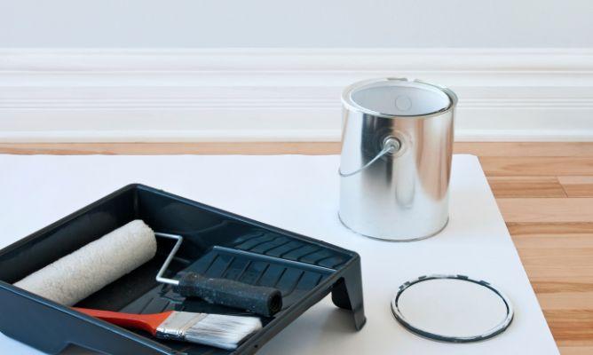 Materiales y herramientas para pintar hogarmania - Materiales para pintar ...