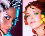 Maquillaje look invierno carnavales