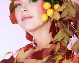 Maquillaje look otoño carnavales