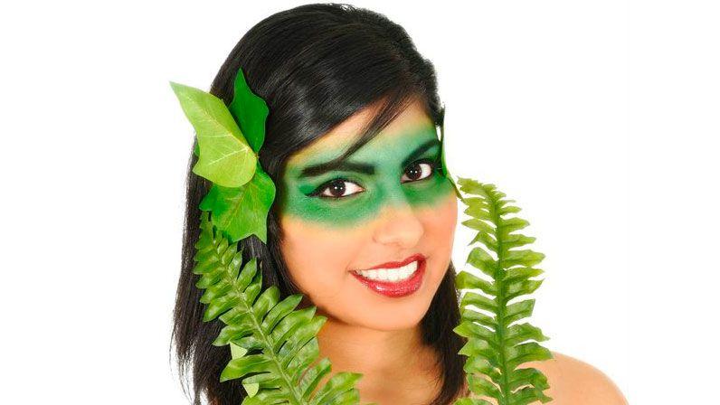 disfraz planta