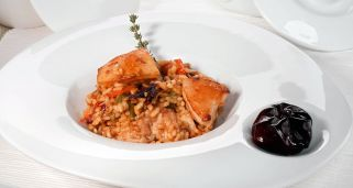 Arroz con cochinillo