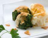Coliflor y brócoli con mahonesa de pimentón