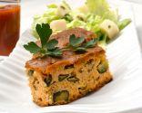 Pan de calabacín y ajos frescos