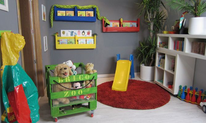 Carrito infantil bricoman a for Bricomania decoracion