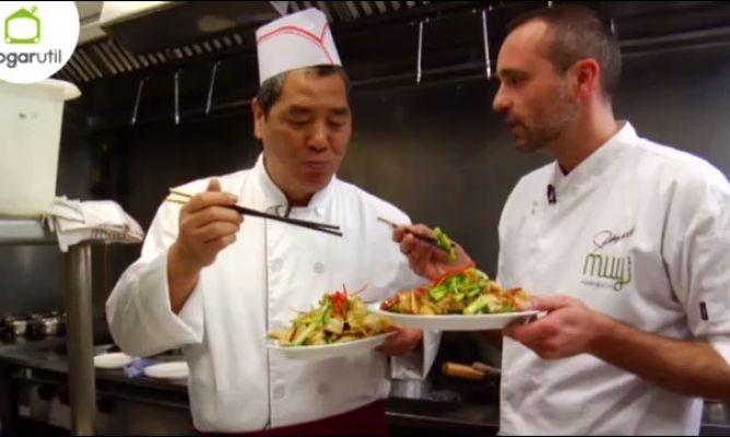 Rodrigo de la calle nos ense a c mo se cocina en un wok for Como se cocina el seitan