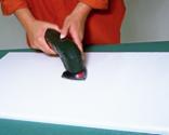 Lacado de superficies con brocha de espuma paso 3