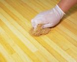 Mantenimiento de encimera con aceite para madera paso 4