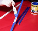 Cómo tapizar la tapa de un baúl paso 14