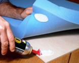 Cómo tapizar la tapa de un baúl paso 5
