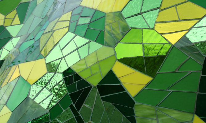 Crear vidrieras art sticas hogarmania - Vidrieras de colores ...