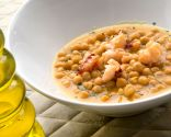 Garbanzos con bogavante