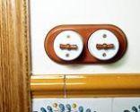 Colocar un interruptor rústico