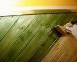 Pintar un friso de madera