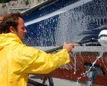 Limpiar una embarcación