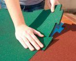 Instalar suelo de caucho granulado - Paso 1