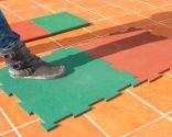 Instalar suelo de caucho granulado - Paso 2