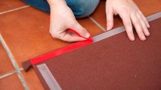 Instalar suelo de caucho granulado - Paso 5