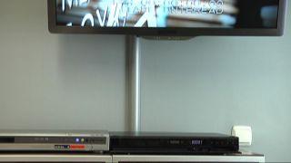 Canaleta para cables de televisión