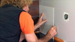 Revestimiento de pared sin obra