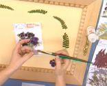Decorar con flores secas paso 2