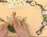Decorar con flores secas paso 3
