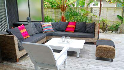 Ideas para decorar una casa en la playa hogarmania for Decoracion para patios exteriores