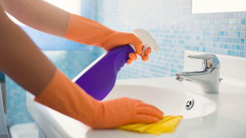 Limpieza exprés del baño - Hogarmania