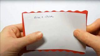 Cómo hacer flores de papel sencillas y bonitas - Paso 1
