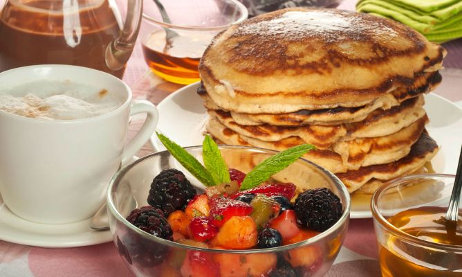 Receta de desayuno americano bruno oteiza for Cena en frances