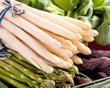 verduras calorías negativas - espárragos
