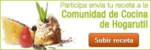 Envía tu receta a la Comunidad de Hogarutil