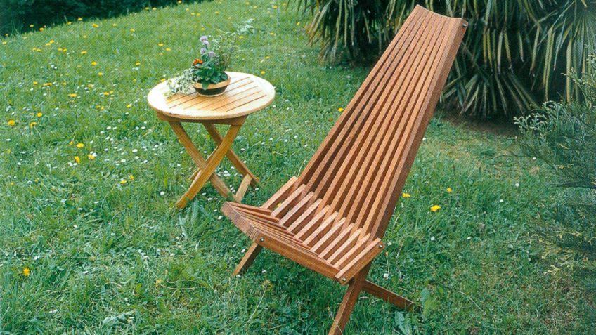 Silla De Madera Bricomania - Como-hacer-un-sillon-de-madera