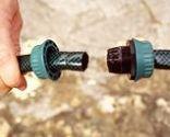 Reparar una manguera de exterior