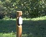 Cómo hacer una lámpara de jardín