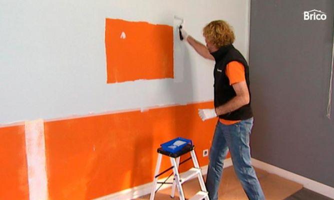 C mo preparar una pared para empapelar bricoman a - Empapelar una pared ...