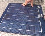 Conexión de placa solar