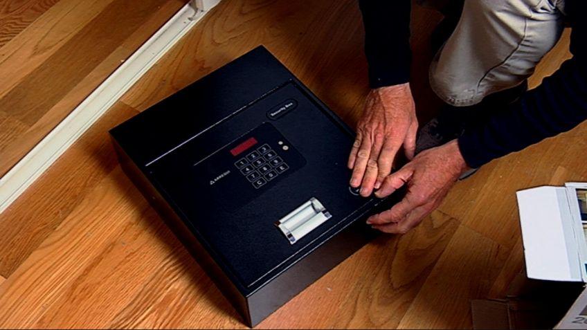 instalar una caja fuerte en un armario bricomana - Bricomania Armario Empotrado