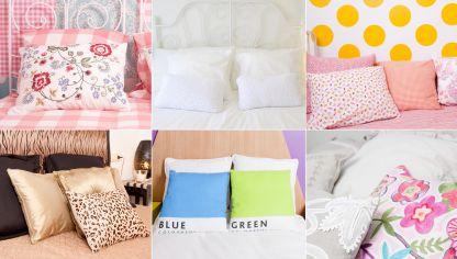 Ideas para decorar dormitorios para compartir hogarmania - Decorar cama con cojines ...