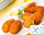 Croquetas de jamón para celiacos