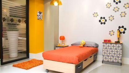 Decorar habitaci n juvenil y alegre decogarden - Como amueblar una habitacion juvenil ...