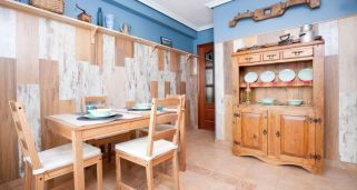 Decorar un comedor r�stico