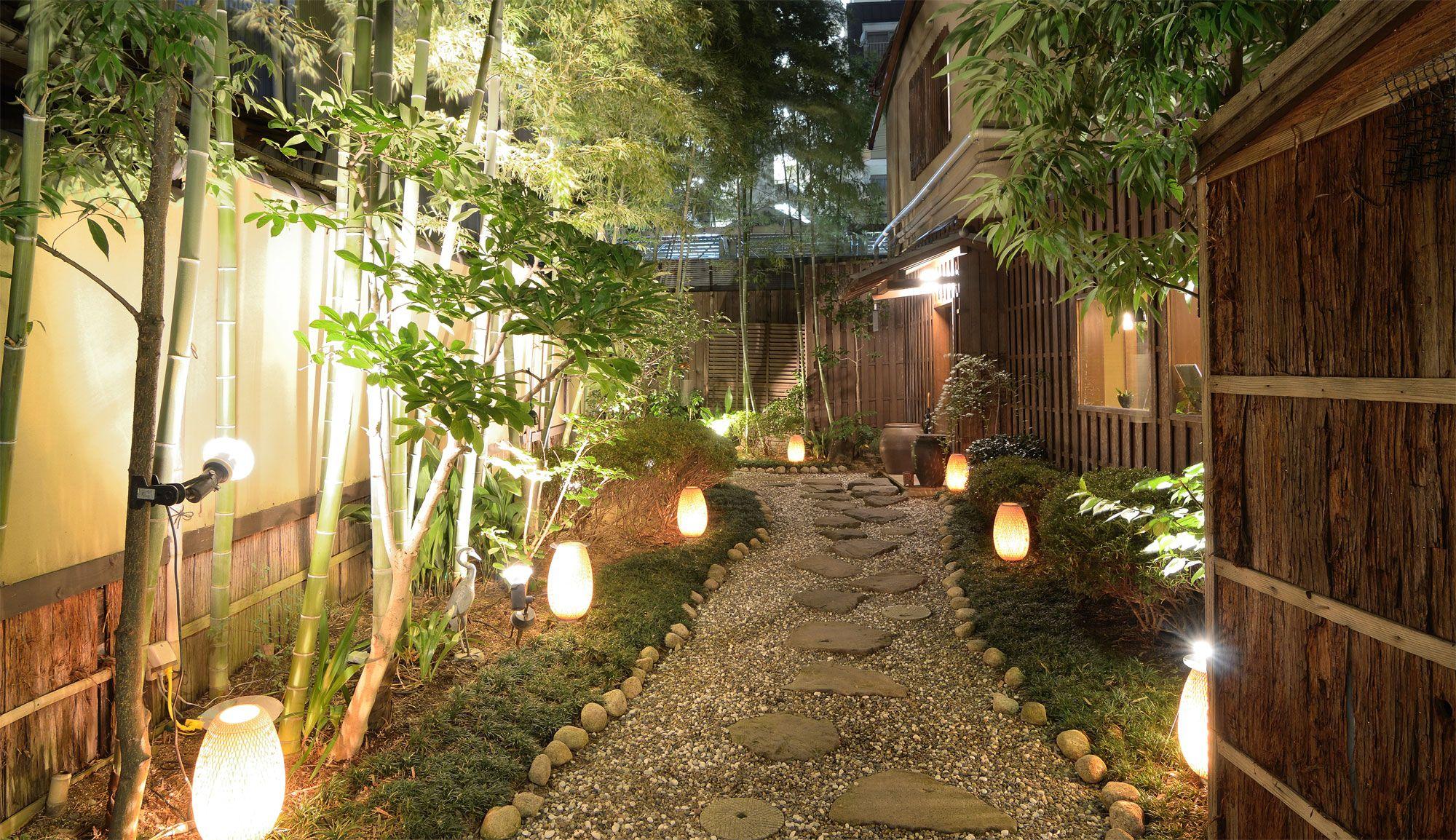 Iluminación para el exterior de la casa